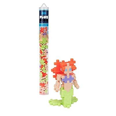 PLUS PLUS - Mermaid - 70 Piece Tube, Construction Building Stem/Steam Toy, Kids Mini Puzzle Blocks: Toys & Games