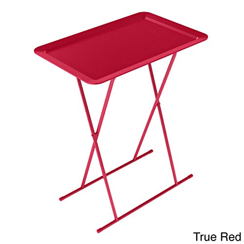 Dar Living Durable True Red urb SPACE Folding Snack Trays, Set of 2 by dar Living