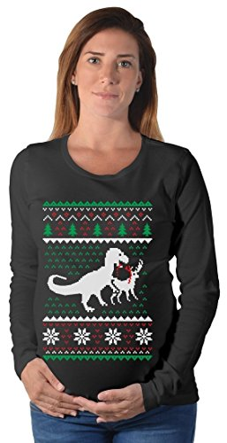 Ugly Christmas Sweater T-Rex