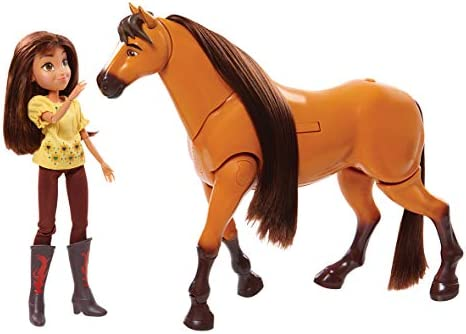 Amazon.com: Caballo de espiral con muñeca de la suerte: Toys ...