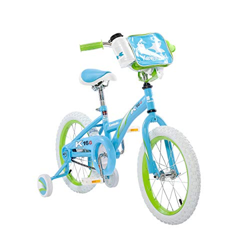 Kawasaki Monocoque Kid's Bike, 16 inch Wheels, 11 inch Frame, Girl's Bike, - Bike Girls Kawasaki