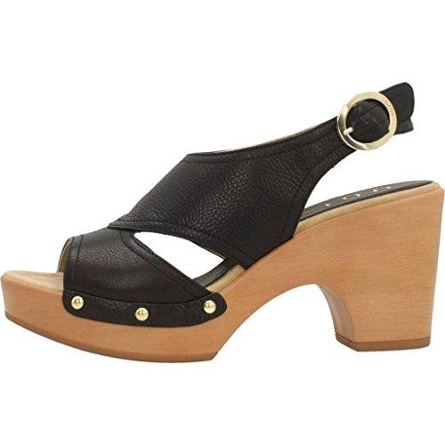 UNISA Sandales, Couleur Noir, Marque, modèle Sandales ONTIL St Noir Noir