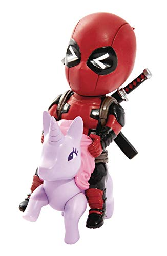 Beast Kingdom Marvel Comics Mea-004 Deadpool Pony Mini Egg Attack Action Figure