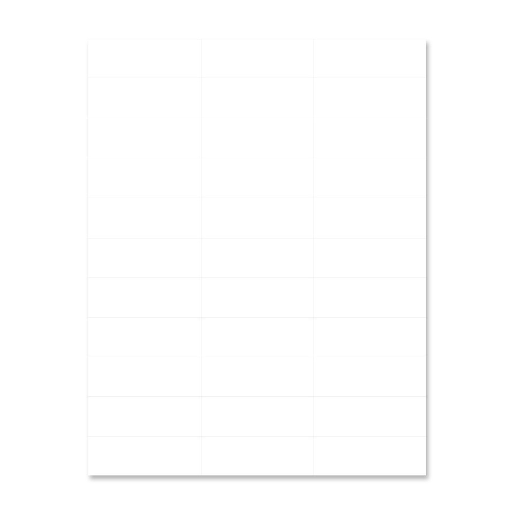 PDC Healthcare WBW-AX2831 Chart Labels Laser, Portrait, Premium, 2.84'' x 1'', 33 Labels per Sheet, White, 4 Packs of 250 Sheets per Case (Pack of 1000)