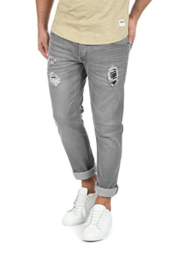 Grey Moy Light Pantaloni nbsp; Uomo Elasticizzato Denim Fit solid 9640 nbsp; Slim Jeans Da A4nwqFf7