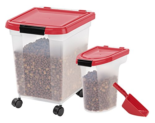IRIS Airtight Food Storage Combo with Scoops by IRIS USA, Inc.