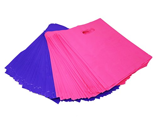 250 Pink and Purple Merchandise Bags, Shopping Bags, 9