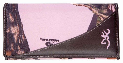 Browning Womens Wallet Continental Mossy Oak Break Up Pink