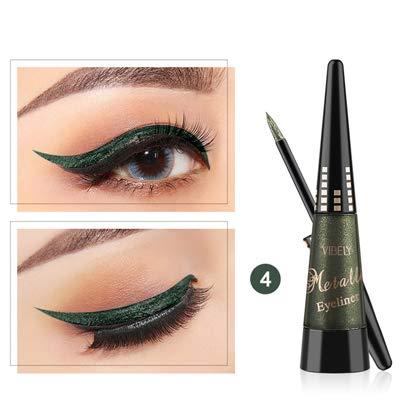 Multiway Eyeliner Pen Metal Glitter Liquid Eyeshadow Waterproof Easy To Wear Liquid Eyeshadow PigmentEyeliner Pencil 4 by WGRTT