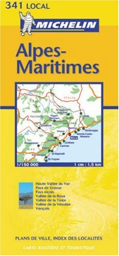 Alpes-Maritimes 2003 (Michelin Local Maps)