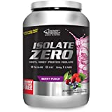 Inner Armour Isolate Zero, Berry Punch | 100% Whey Protein Isolate | 1.6 Pounds