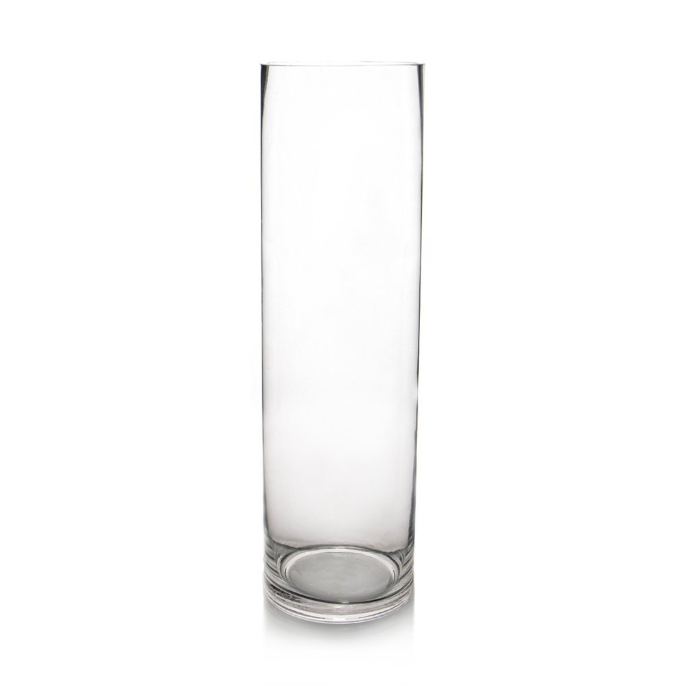 Amazon cys excel glass vase cylinder vase glass cylinder amazon cys excel glass vase cylinder vase glass cylinder vases set 6 size available pack of 12 h16 dia4 kitchen dining reviewsmspy