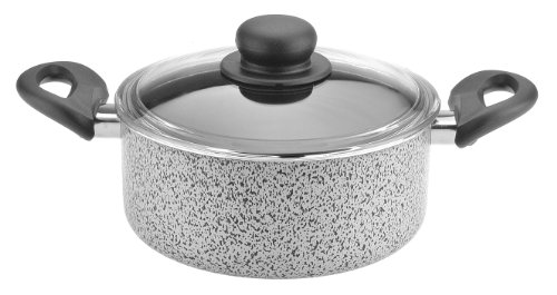 Caroni A300420 De Luxe Dutch-Oven with Glass Lid, 2 7.94-Inch