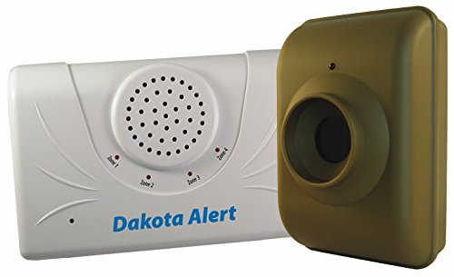 Dakota Alert DCMA-2500 Driveway Motion Alert 2500' Kit (Green White) by Dakota Alert