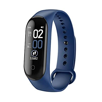 DMMDHR Smart Sport Bracelet Wristband Blood Pressure Heart Rate Monitor Pedometer Bluetooth Smart Watch men Estimated Price £35.40 -