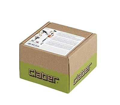 Claber 8458 Connector, Adapter, Black, Orange
