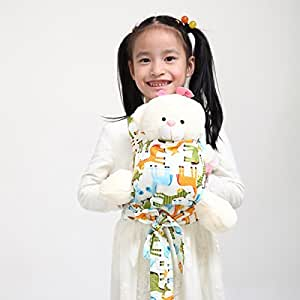 Sigzagor Baby Doll Carrier Mei Tai Sling Toy For Kids Children Toddler Front Back,Mini Carrier,Birthday Christmas Gift (Horse)