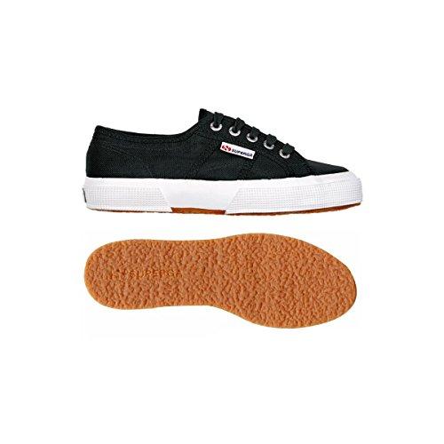 Superga 2750 LINU S001W30 - Zapatillas de tela para mujer Black