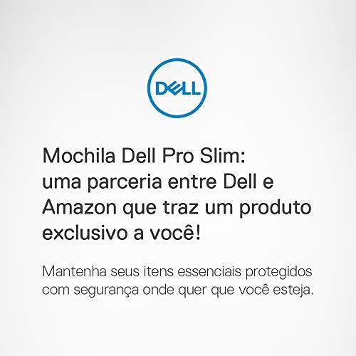 Mochila DELL Pro Slim 15, black/green