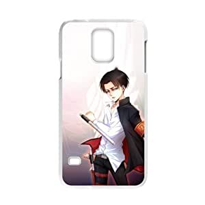 TOPPEST Design Japan Anime Attack on Titan Plastic Case for Samsung Galaxy S5 (Laser Technology)(02)