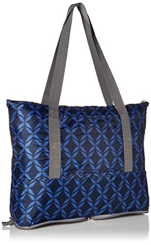 41fXncWX%2B3L - Travelon Folding Packable Tote Sling, Rope Weave, One Size