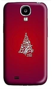 Samsung S4 case custom made Merry Christmas Tree Best 3D cover custom Samsung S4