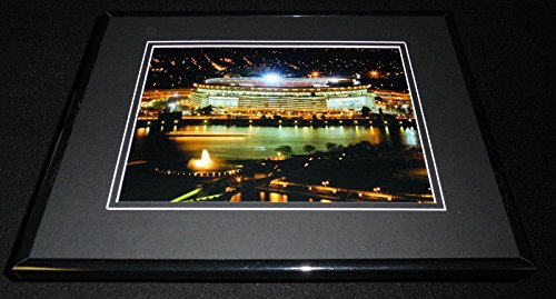 Pittsburgh Pirates Three Rivers Stadium (Three Rivers Stadium Pittsburgh Framed 11x14 Photo Display Steelers Pirates)
