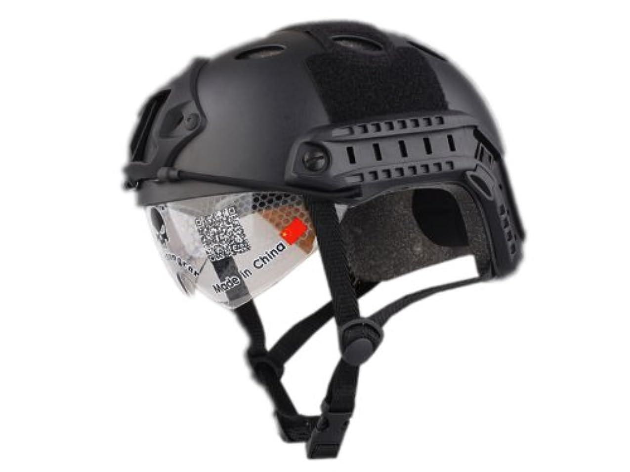 アナログとても多くの月曜日SHENKEL GoPro NVGマウント ウェアラブルカメラ用アクセサリ FASTヘルメット対応 (BK ブラック) ナイトビジョンマウント サバゲー装備 サバイバルゲーム