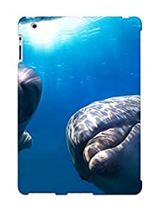 Podiumjiwrp ZCeXfiF3978KTjOI Case Cover Ipad 2/3/4 Protective Case Dolphins ( Best Gift For Friends)