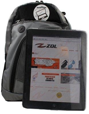 """Zol Backpack for Computers and Ipad Tablets of 10"""" - 11"""""""