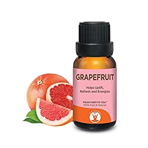 GuruNanda Grapefruit Essential Oil - Aromatherapy - GCMS Tested & Verified 100% Pure Essential Oils - Undiluted - Therapeutic Grade -  15 ml