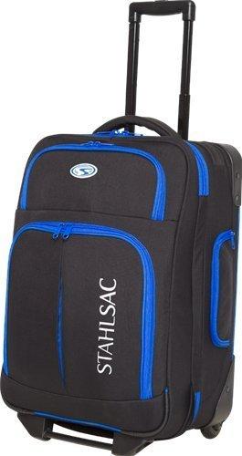 Stahlsac Rangi Roller Bag (Black / Blue) by Stahlsac Dive Bags