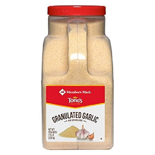 Member's Mark Granulated Garlic by Tone's (7.25 lb.) (pack of 6)