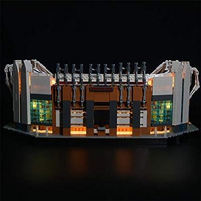 RAVPump LED Lighting Kit for Old Trafford Blocks Model - LED Light Set Compatible with Lego 10272 (ONLY Light Set): Toys & Games