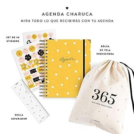 Charuca AG51 - Agenda, color amarilla: Amazon.es: Oficina y ...