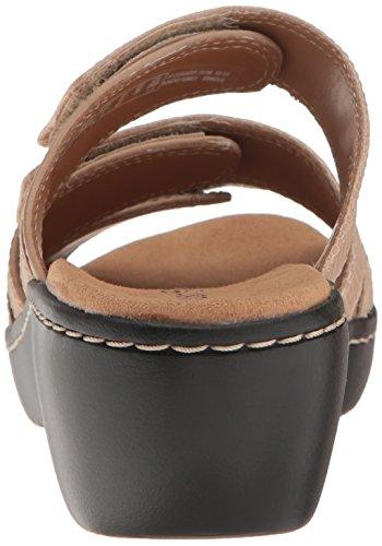 CLARKS - Delana Damir Damen Sand Leather