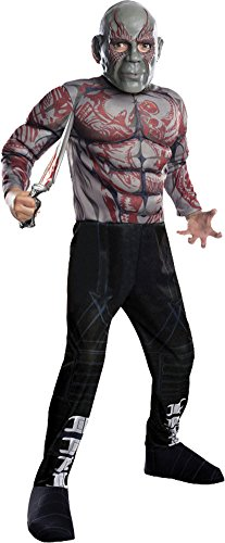 BESTPR1CE Boys Halloween Costume-Drax The Destroyer Kids Costume Large -