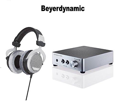 beyerdynamic DT 880 Premium 600 OHM Headphones A20 Headphone Amplifier - Silver Bundle (Beyerdynamic Dt 880 Premium 600 Ohm Headphones)