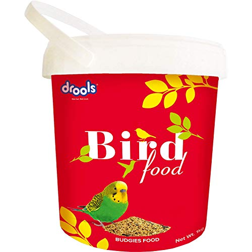 Drools Bird Food for Budgies with Mixed Seeds, 1kg (932331)