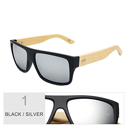 Unisex Gafas Era Bambú Brown Gafas De Deporte Gafas Uv400 Hombre Mujer Leopard De Gafas Sol Mujeres TIANLIANG04 Sol D De De De Madera Black De Silver x0fq57WAWw