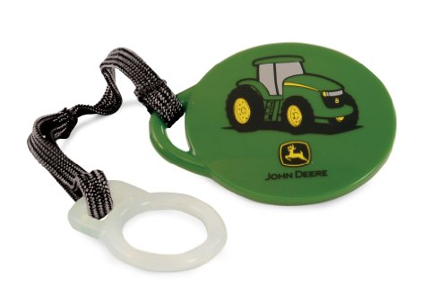 First Years Pacifier Clip Deere