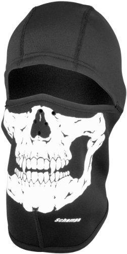 Schampa Fleeceprene Full Face Balaclava Skull by (Schampa Fleeceprene Balaclava)