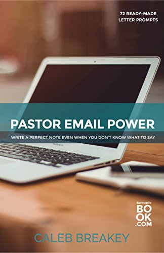 Pastor Email Power Leadership Administration ebook product image