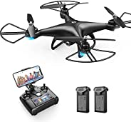 Holy Stone HS110D FPV RC Drone with 1080P HD Camera Live Video 120°Wide-Angle WiFi Quadcopter with Gravity Sen