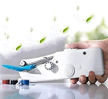 Yuaer Máquina de coser manual, máquina de coser de cortina sin ...