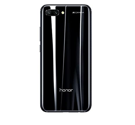 Huawei Honor 10 (COL-L29) 128GB Black, Dual Sim, Dual Camera 24MP+16MP, 4GB RAM, GSM Unlocked International Model, No Warranty