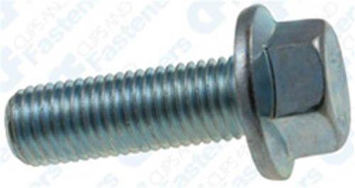 10 M10-1.25 X 30mm J.I.S Small Head Hex Flange Bolts Clipsandfasteners Inc