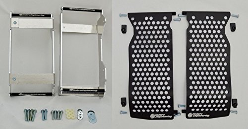 Enduro Engineering Radiator Braces & Guards Combo Package Yamaha WR (Dirt Bike Radiator Guards)