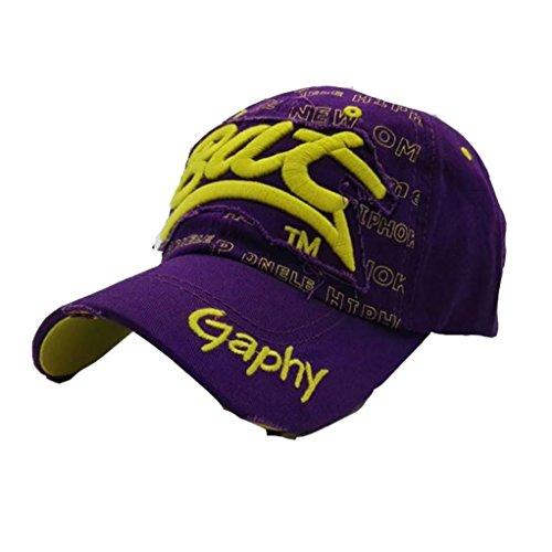 Hop Gorra de ☀️ de Púrpura Impresión Sombreros Absolute de Gorras Béisbol Cartas Casuales Hip de Bordado Sombreros Verano para Hombres Mujeres z5gqwUn51