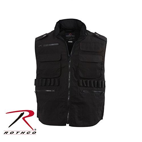 Rothco Ranger Vest, Black, Large